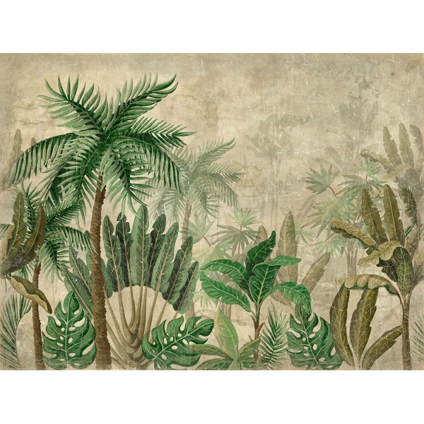 FORET TROPICALE (200x150cm)