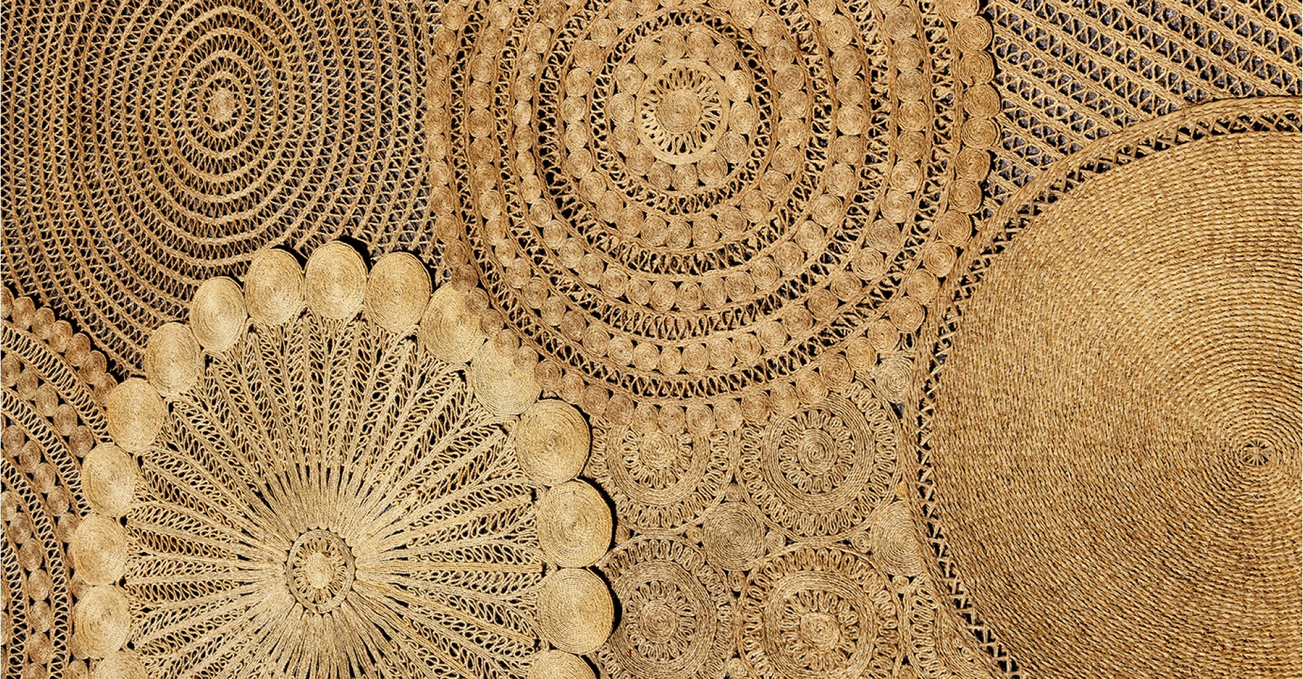 Tapis VINTAGE fibre naturelle