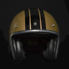 Casque jet GAMSTON bronze