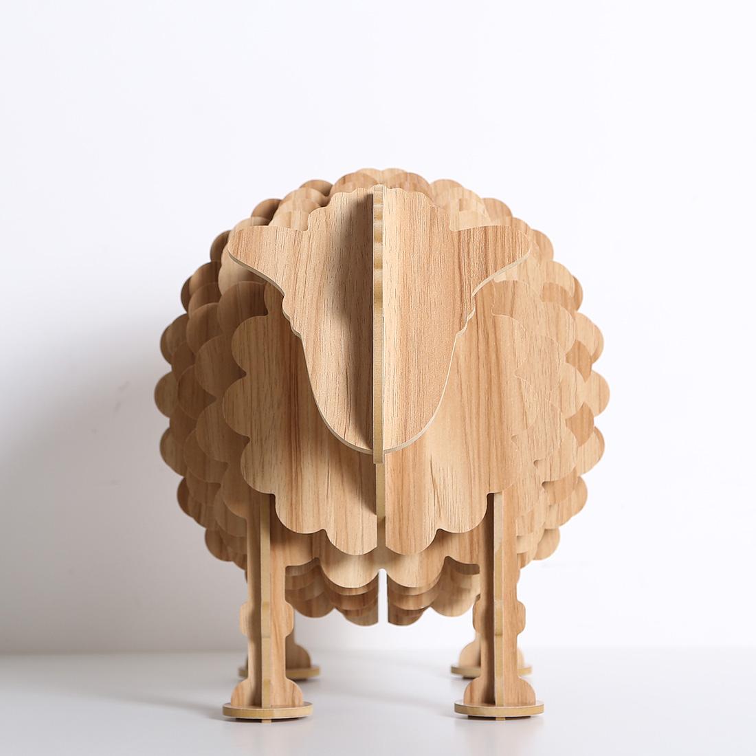 mouton en bois. Black Bedroom Furniture Sets. Home Design Ideas