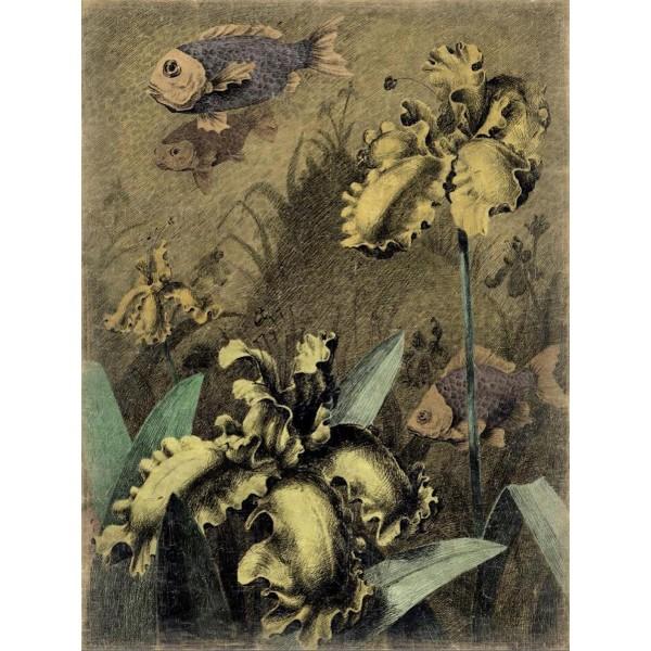 LE SONGE D'UN HERON Droite (150x200cm)