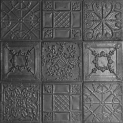 Set 12 plaques CLOVIS