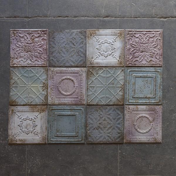 Set 12 plaques LILA