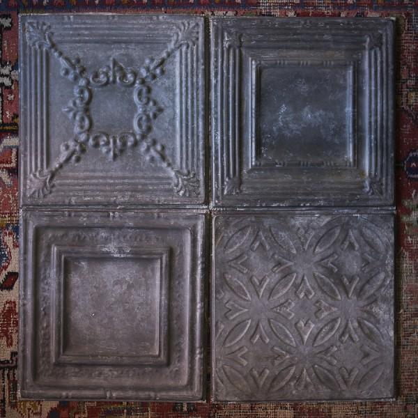 Set 12 plaques LOUISE