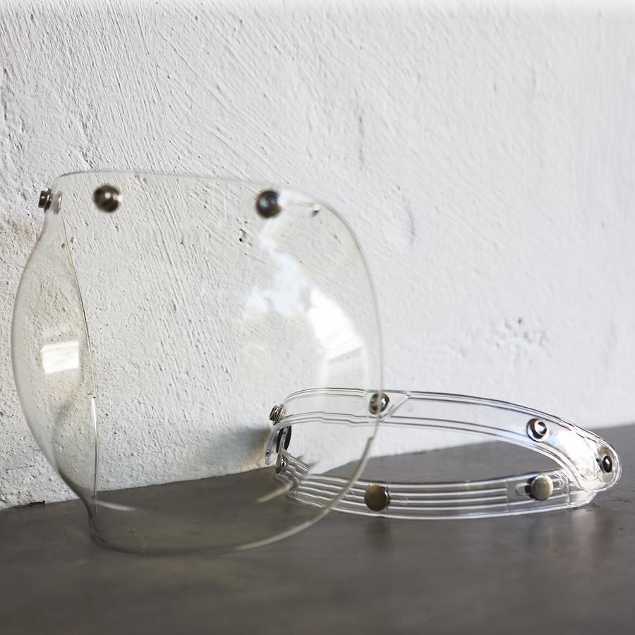 Visière bubble RACE Transparente