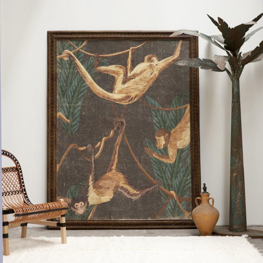 BLACK MONKEYS (150x200 cm)