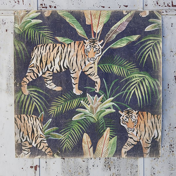 TIGRE JUNGLE (120X120 cm)